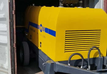 AIMIX 40CBM Diesel Concrete Pump Sent to the Philippines in September 2020