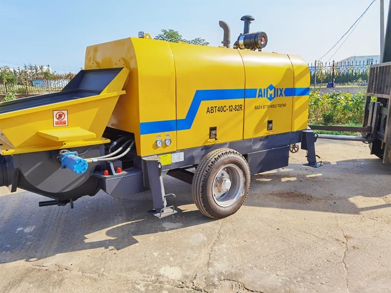 AIMIX ABT40C diesel concrete pump