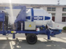 AIMIX ABJZ40C Diesel Concrete Mixer Pump Sent to Indonesia in October 2020