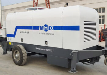 AIMIX ABT80C Concrete Pump Sent to Russia in November 2020