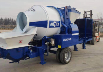 AIMIX 40 Diesel Concrete Mixer Pump Sent to Canada in December 2020