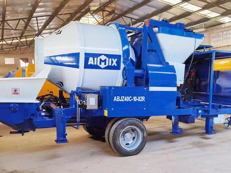ABJZ40C diesel mixer pump to Canada