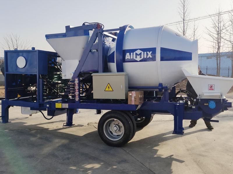 ABJZ30C concrete mixer pump