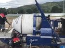 AIMIX 40m3 Diesel Concrete Mixer Pump Start Working in East Timor