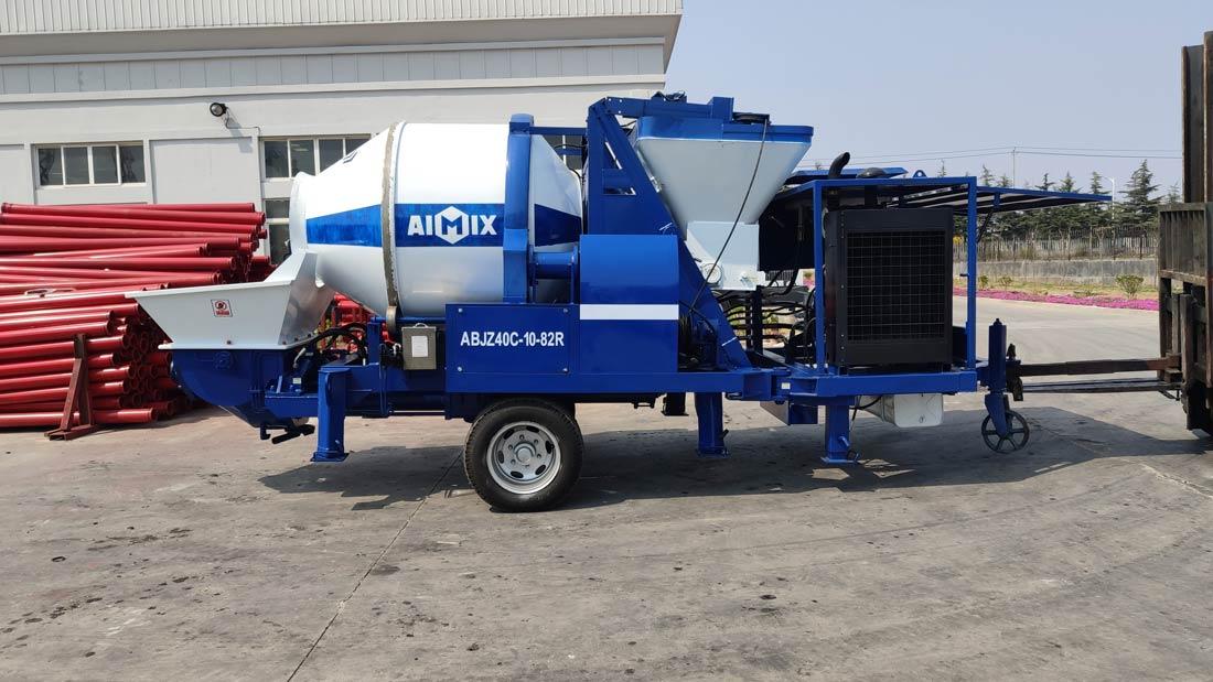 AIMIX diesel mixer pump
