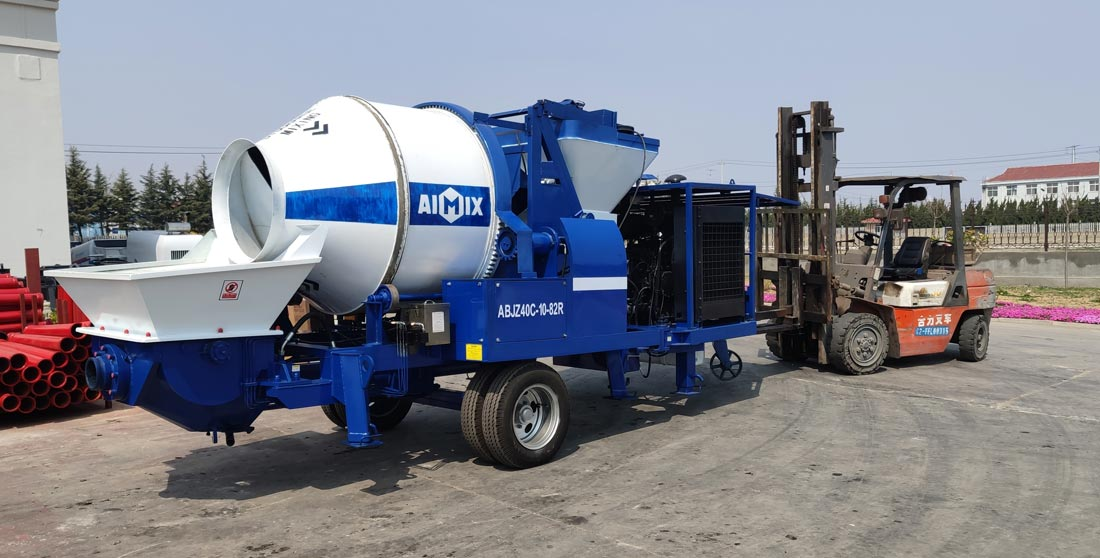 diesel concrete mixer pump to Philippines
