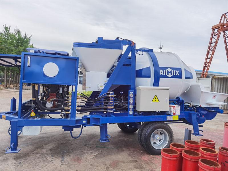 ABJZ40C concrete mixer pump