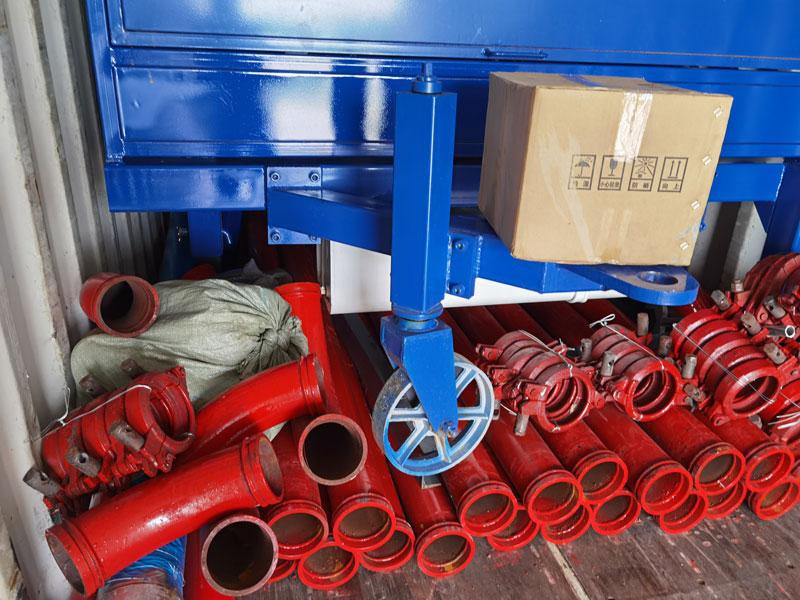 concrete pump pipes